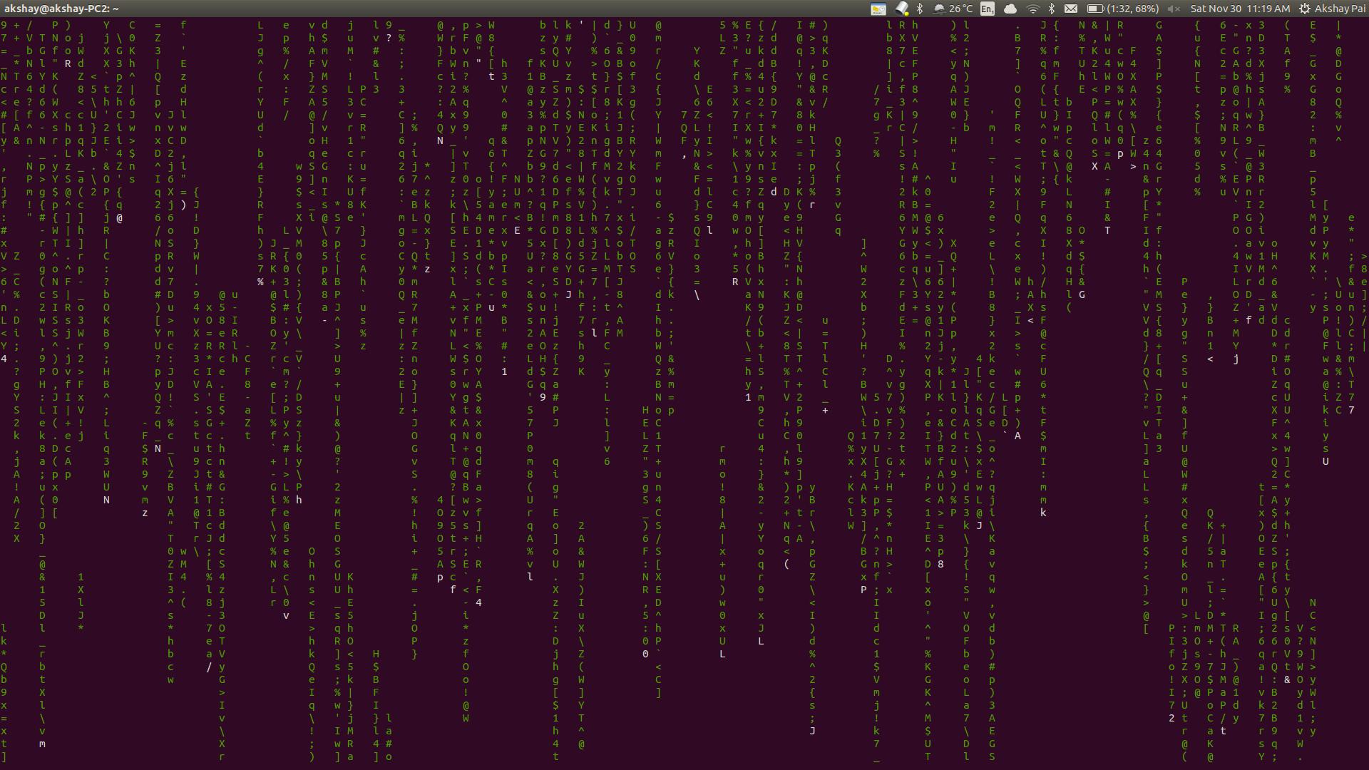 Interesting commands on Linux :SET 1 - Source Dexter