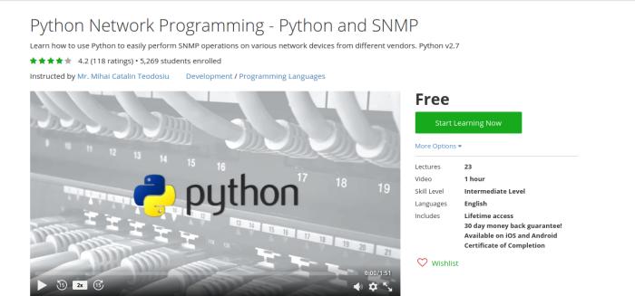 python networking